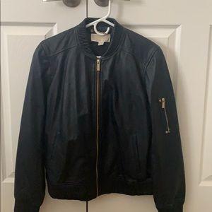Michael Kors Leather Jacket very nice leather